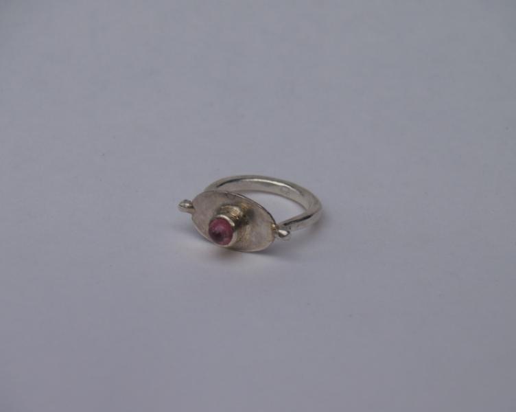 Ring, Silber, Edelstein