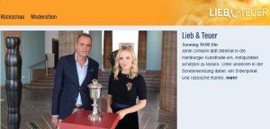 """TV-Sendung """" Lieb & Teuer"""